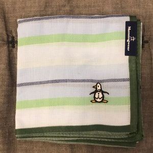 Accessories - Japan Munsingwear handkerchief Green and Blue